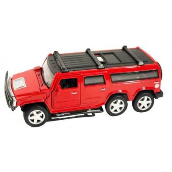 Hummer 1:32 Die cast Metal Luxury Model Pull Back Car with Light and Sound Effects