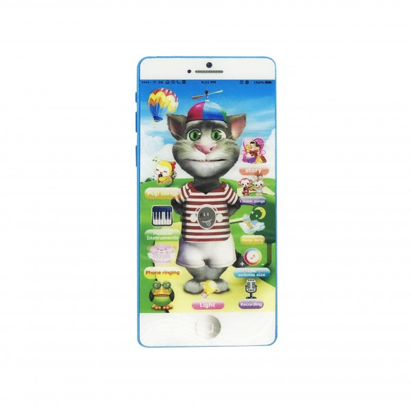 Talk Back Touch Screen Smart Phone Mobile Toy with Amazing Sound Recording Feature
